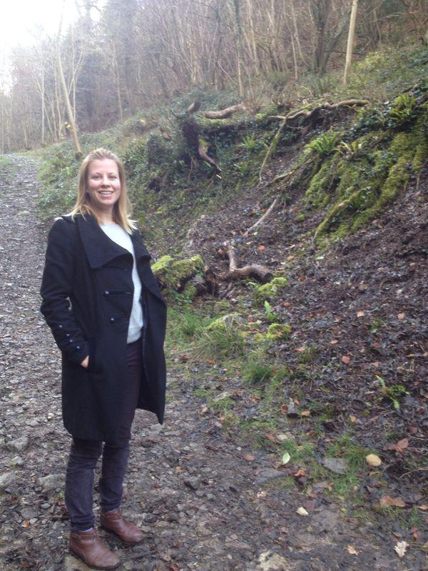 Bristol garden designer Claire of Iron Butterfly Design